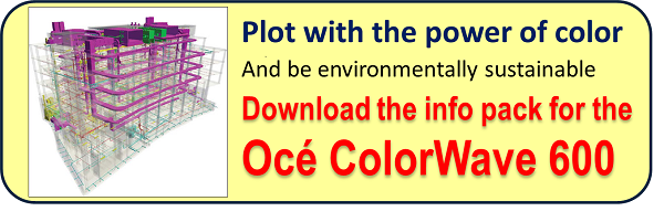 oce ColorWave 600 printer plotter info pack