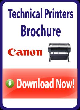 Canon technical printers