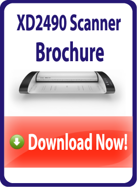 Tabletop wide format scanner - download brochure