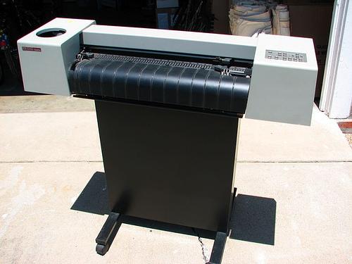 used-old-big-format-printer
