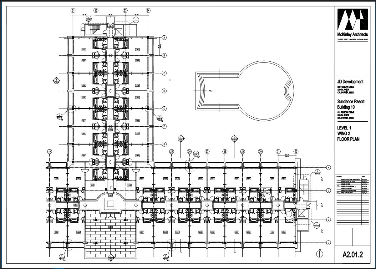 Hotel-construction-plan-visual-search-Bluebeam-Revu-TAVCO