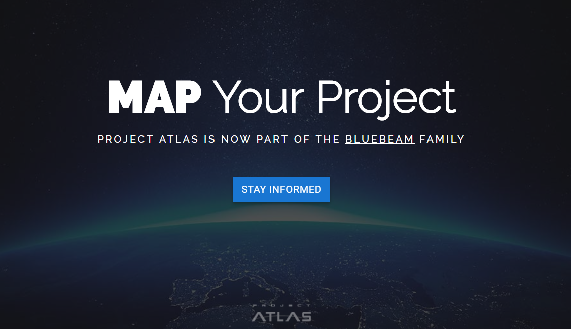Project Atlas - Bluebeam - Stay Tuned 2018
