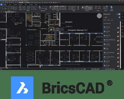 BricsCAD - Footer Image