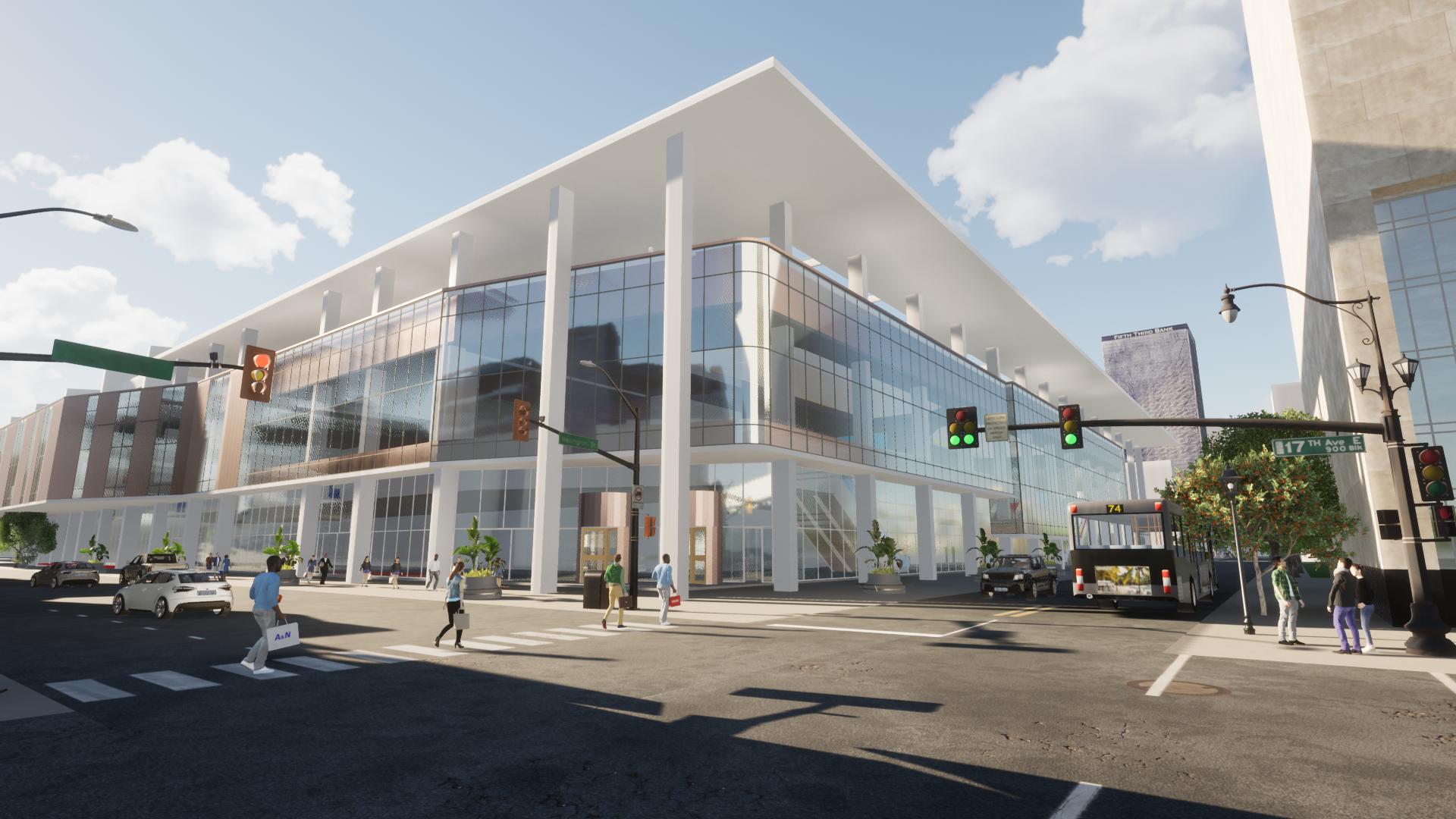 Twinmotion render KICC building