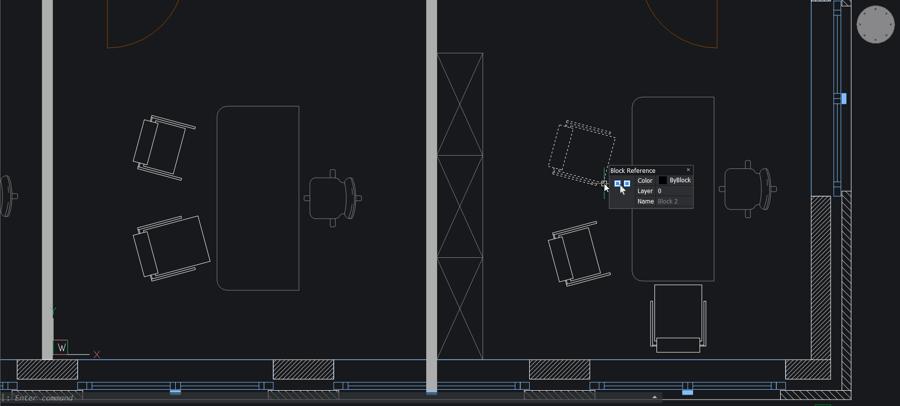 Parametric blocks