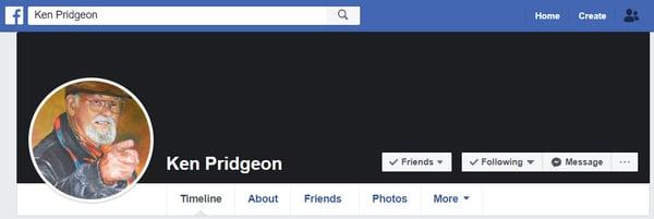 Ken Pridgeon Facebook