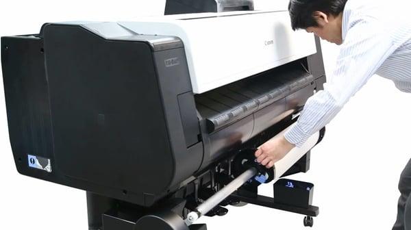 Canon-iPF-TX-Auto-Paper-Loading