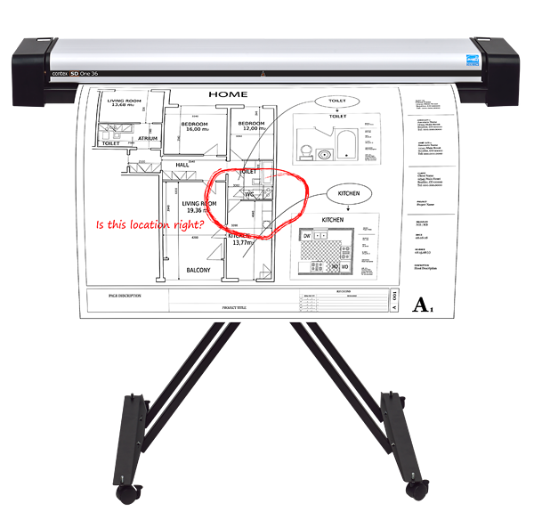 SD-One-36-Front_With-Stand-and-Document.png