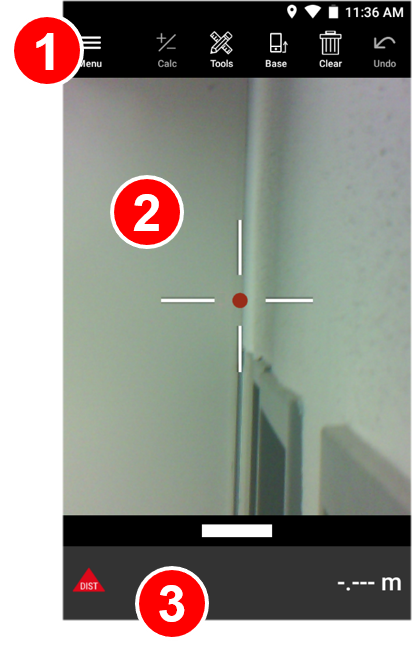 Laser Measure Interface - Leica BLK3D