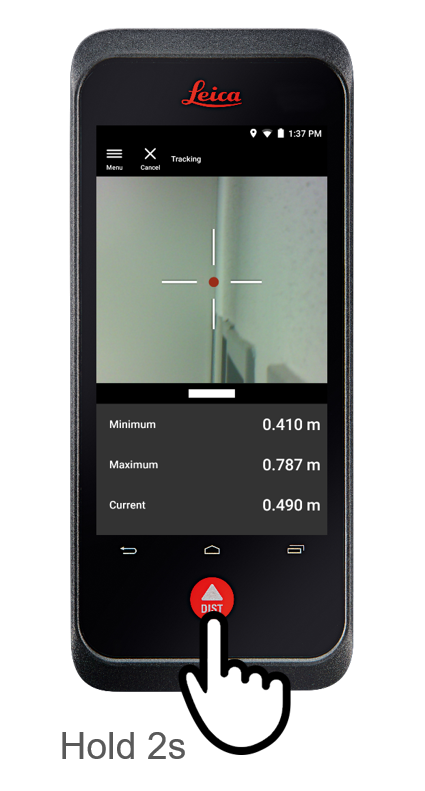 Tracking Min and Max - Leica BLK3D laser