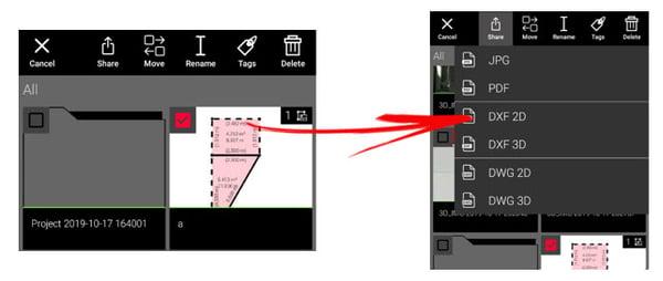 Export File Types - Leica BLK3D Organiser