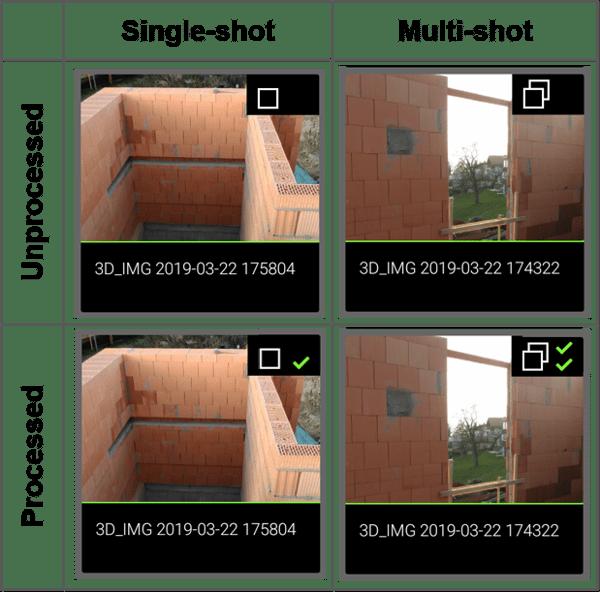 Organiser Image Icon Status - Leica BLK3D