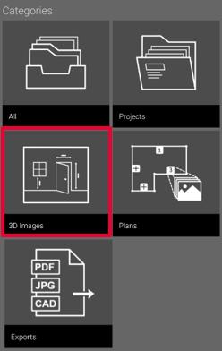 Organiser Menu - 3D Images