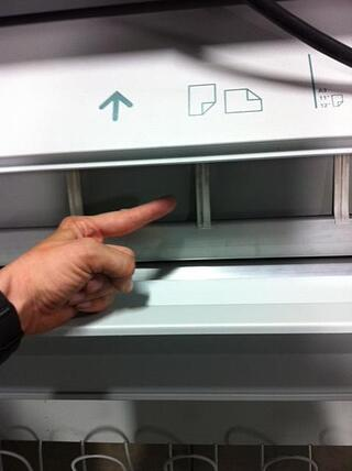 Oce-TDS-plotter-guide-fingers-out-of-position