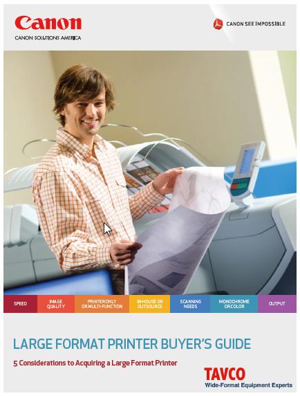 Wide Format Printers in Austin TX