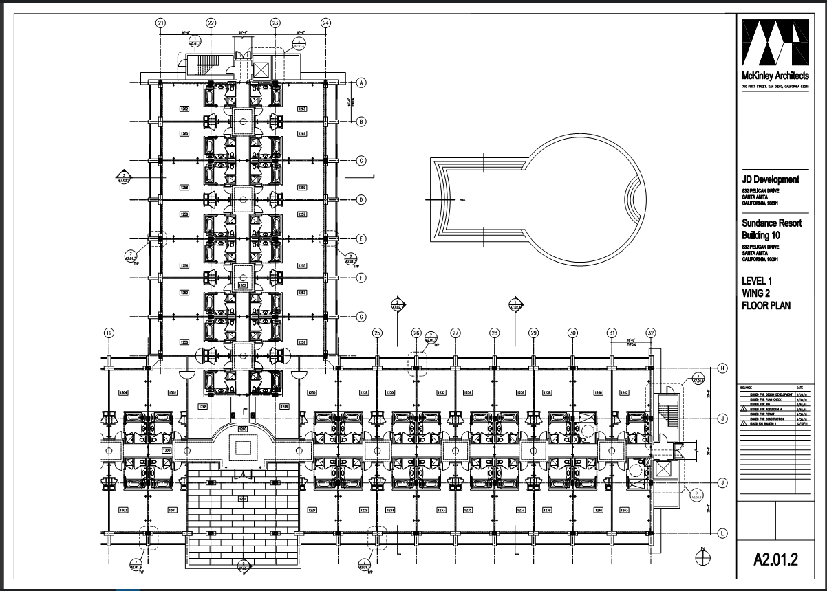 Hotel-construction-plan-visual-search-Bluebeam-Revu-TAVCO
