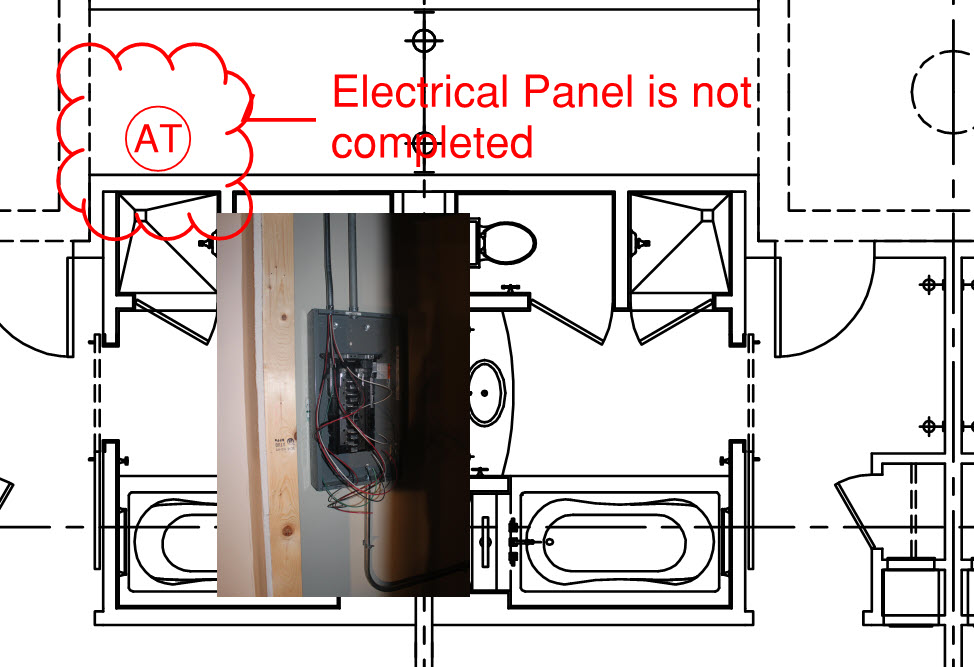 Capture Data - Electrical Panel Not Completed