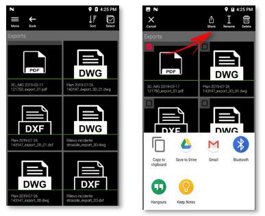 Exporting Files - Leica BLK3D Organiser